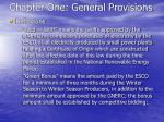 chapter one general provisions18