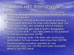 problems with amendments7