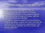 the sustainable energy agency