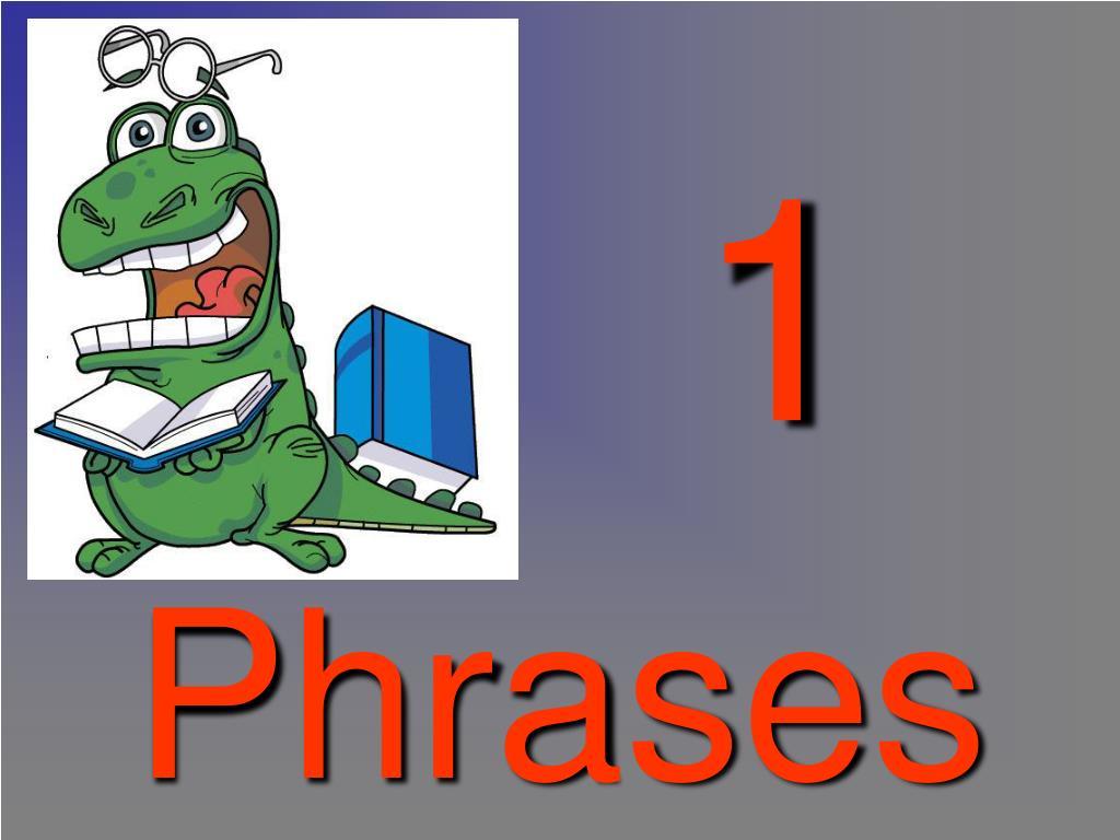 phrases l.