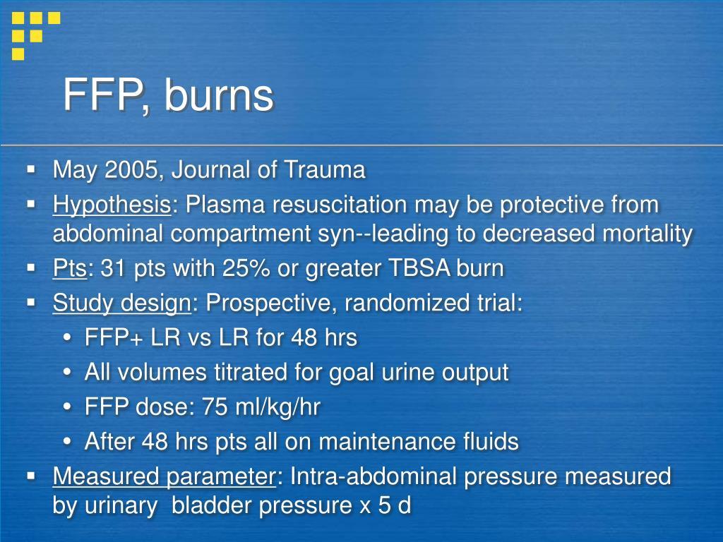 FFP, burns