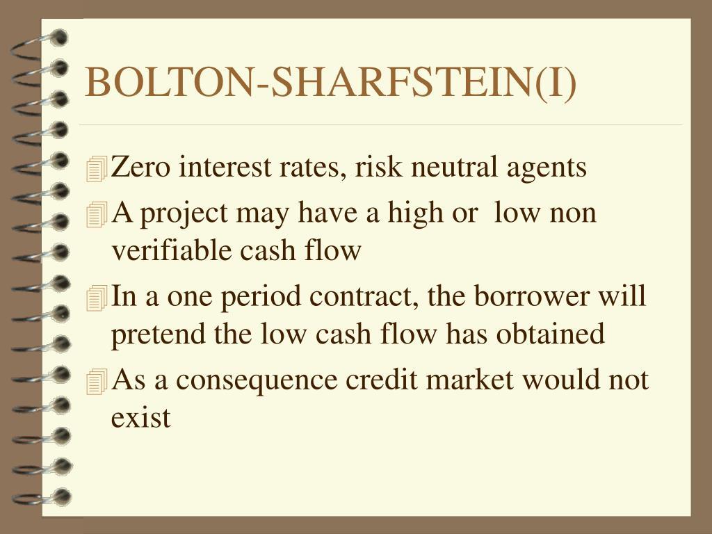 BOLTON-SHARFSTEIN(I)