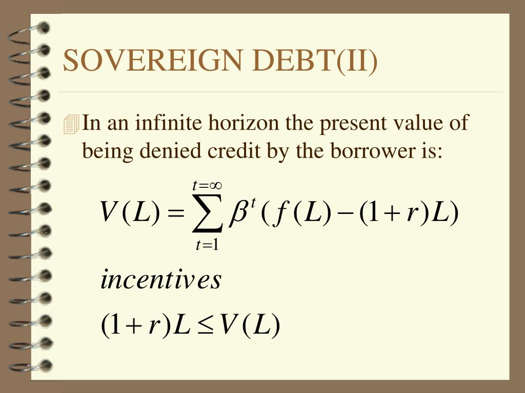 SOVEREIGN DEBT(II)