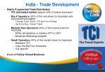india trade development