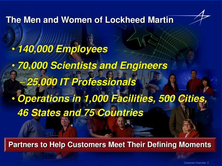 The Men and Women of Lockheed Martin