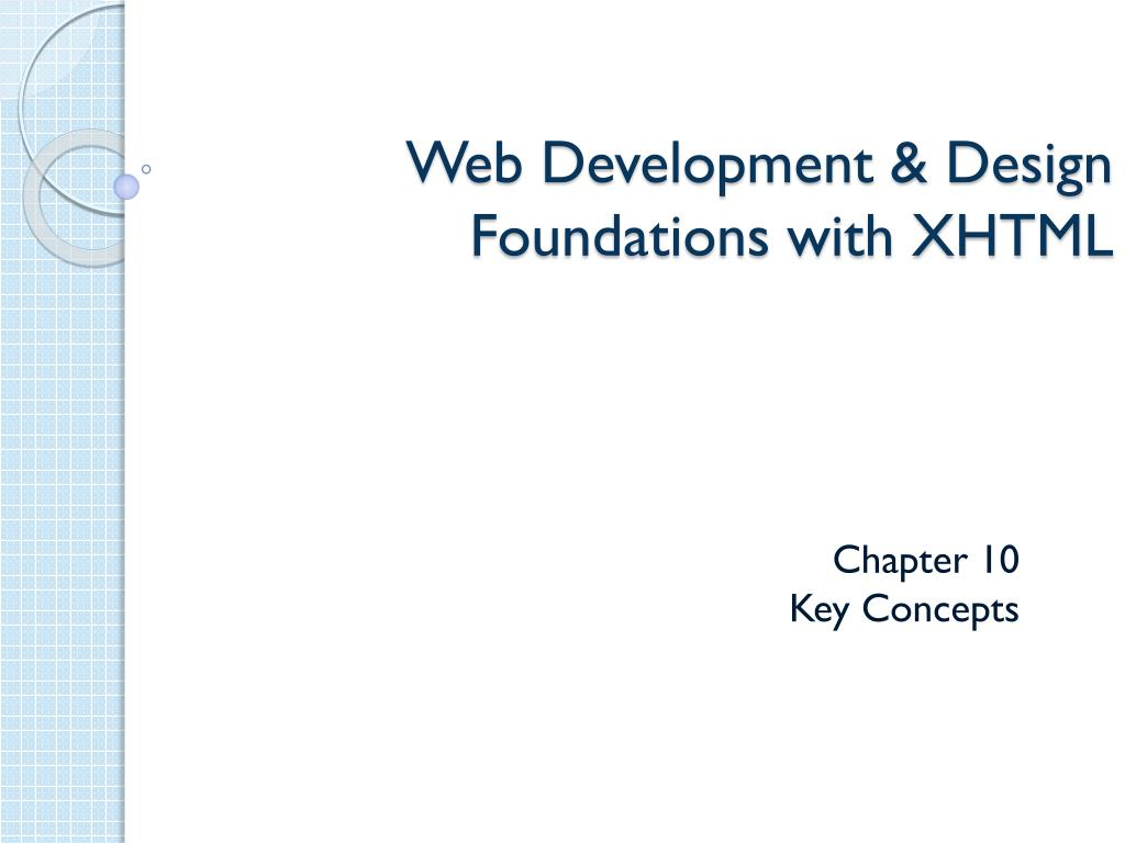 web development design foundations with xhtml l.