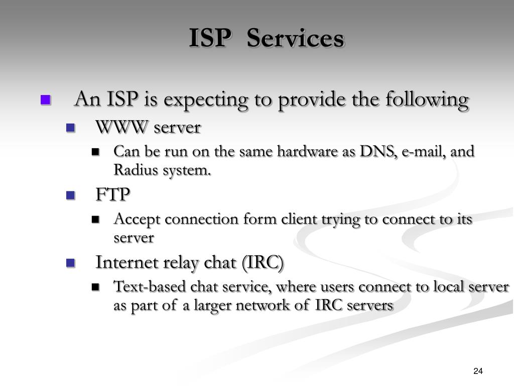 ISP  Services