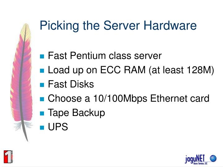 Picking the server hardware