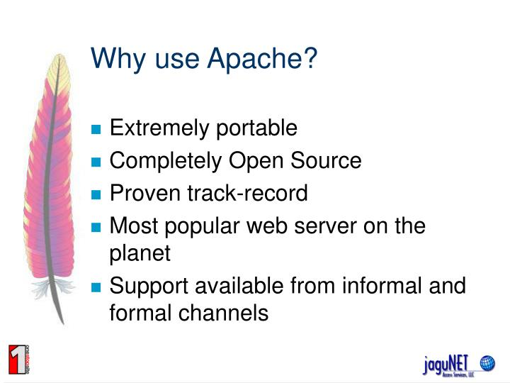 Why use apache
