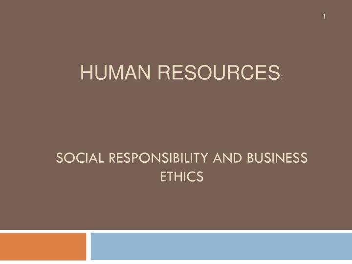 social responsibility and business ethics n.