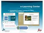 e learning center