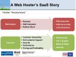 a web hoster s saas story