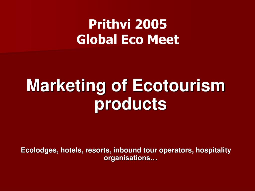 prithvi 2005 global eco meet l.