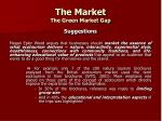 the market the green market gap10