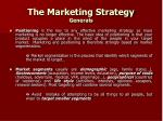 the marketing strategy generals13