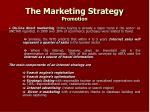 the marketing strategy promotion21