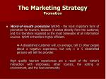 the marketing strategy promotion25
