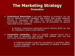 the marketing strategy promotion27