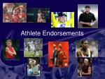 athlete endorsements