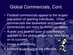 global commercials cont54
