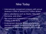 nike today