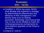 economics fsc ncsu