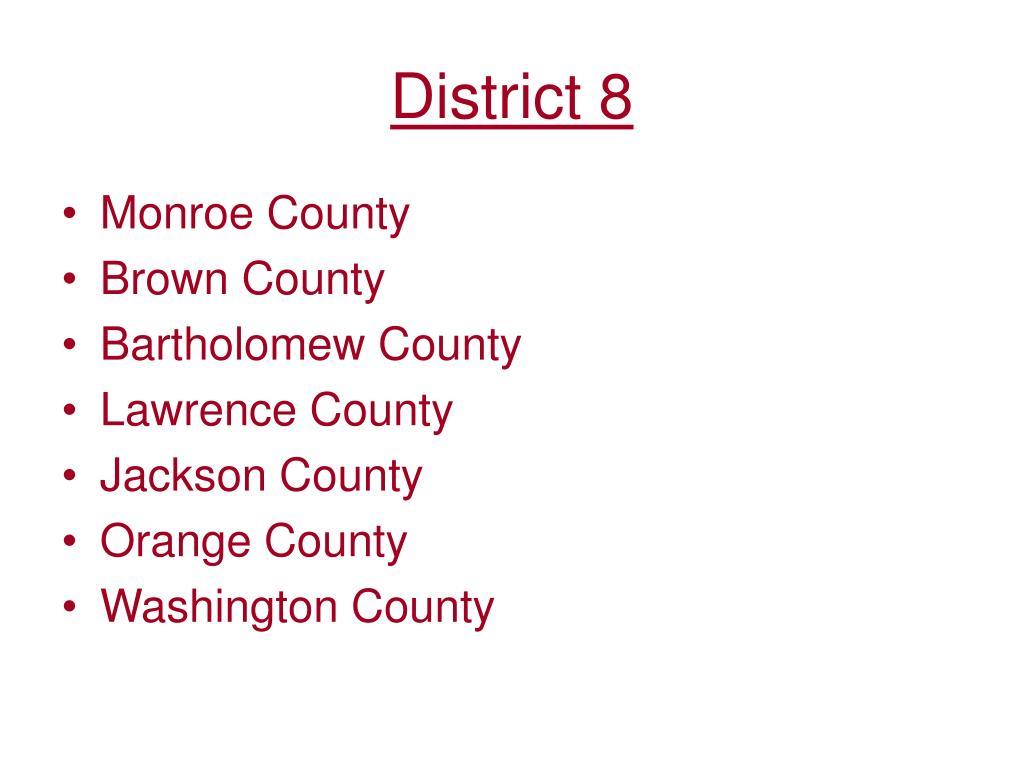 District 8
