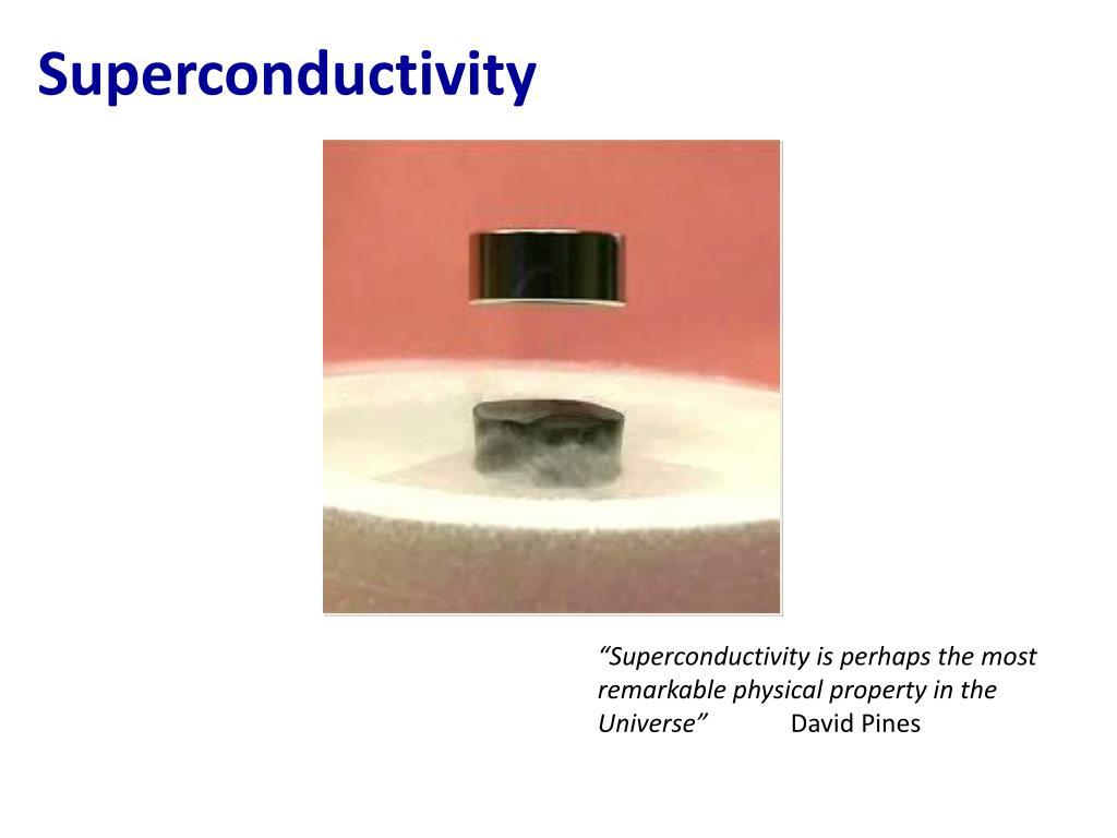 superconductivity l.