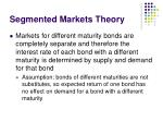 segmented markets theory