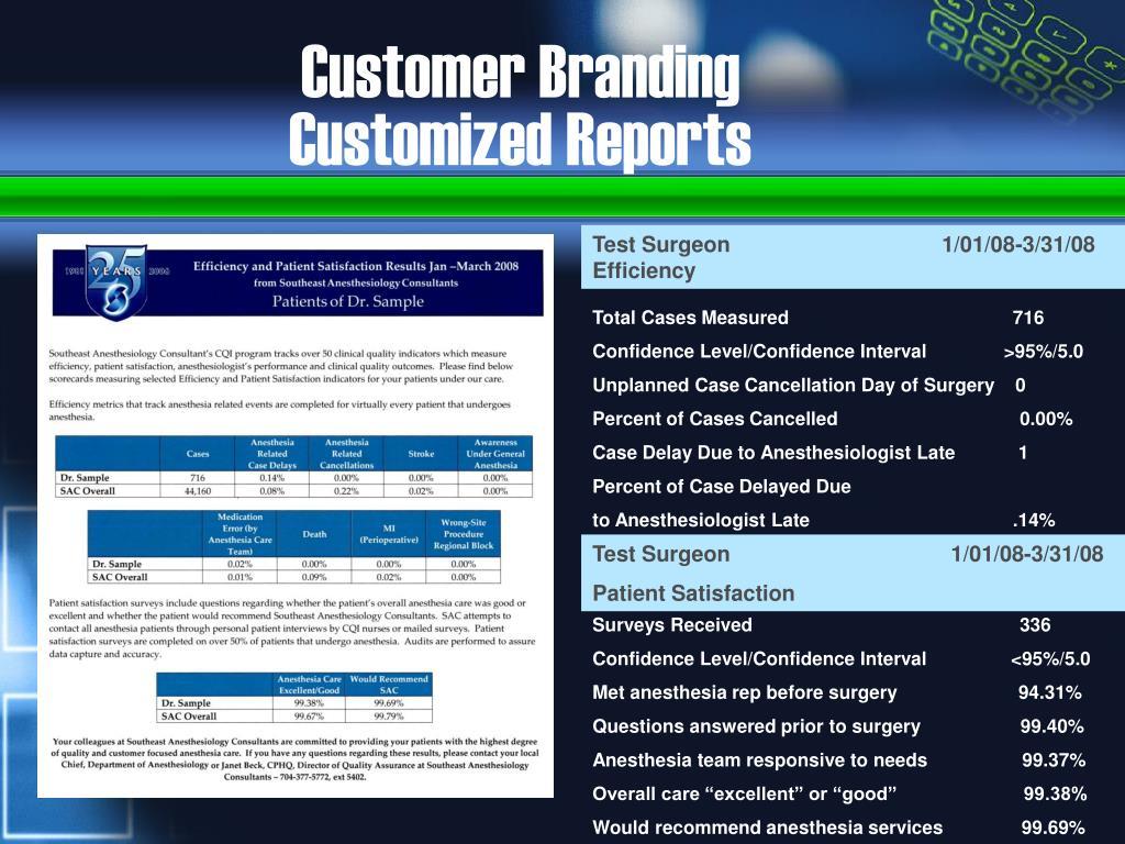Customer Branding