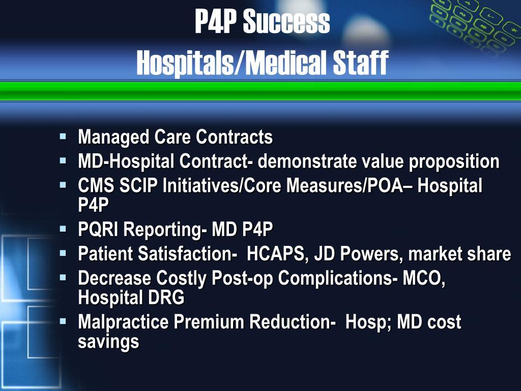 P4P Success