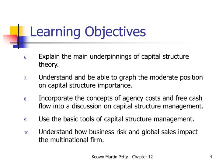 importance of capital structure