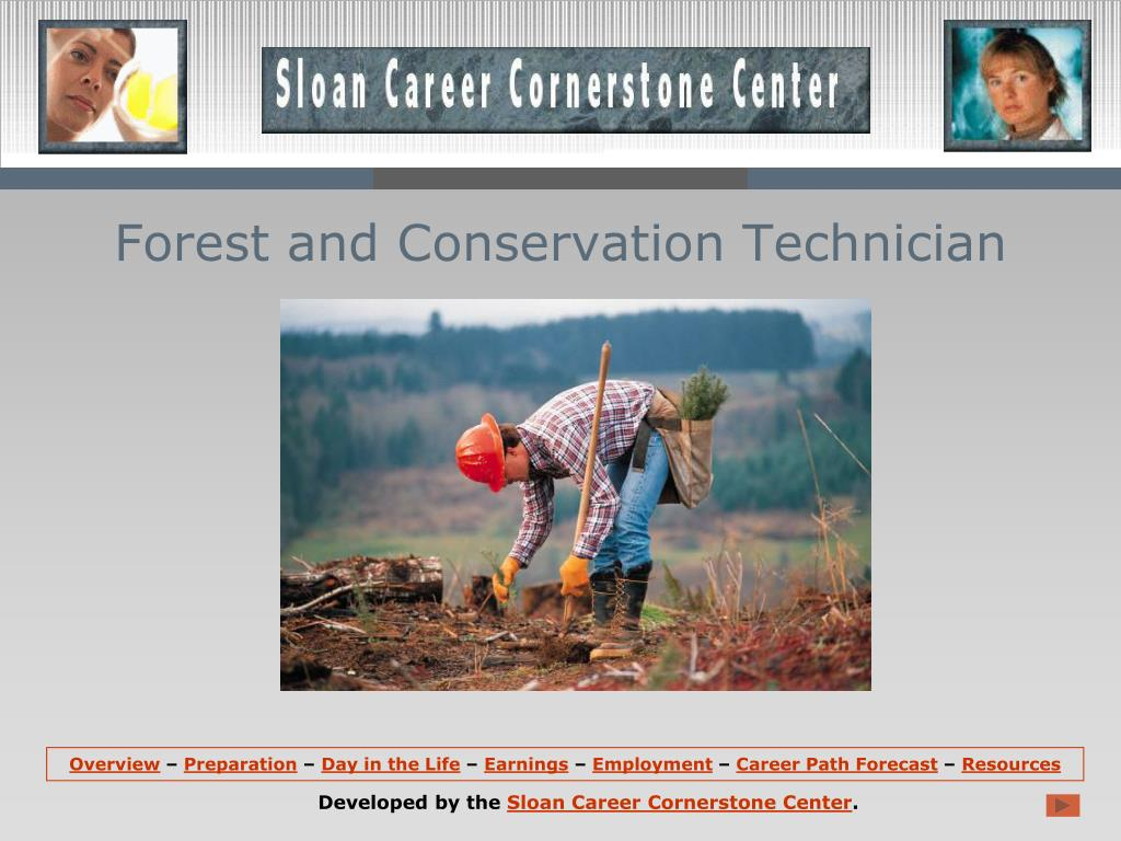 forest and conservation technician l.