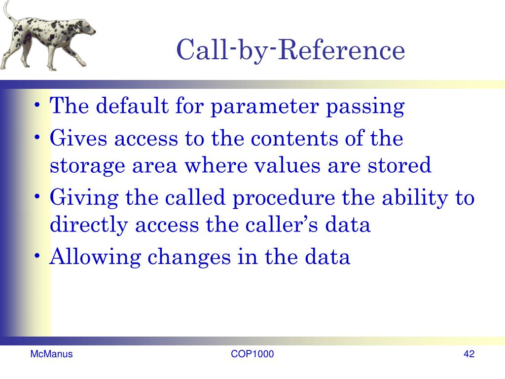 Call-by-Reference