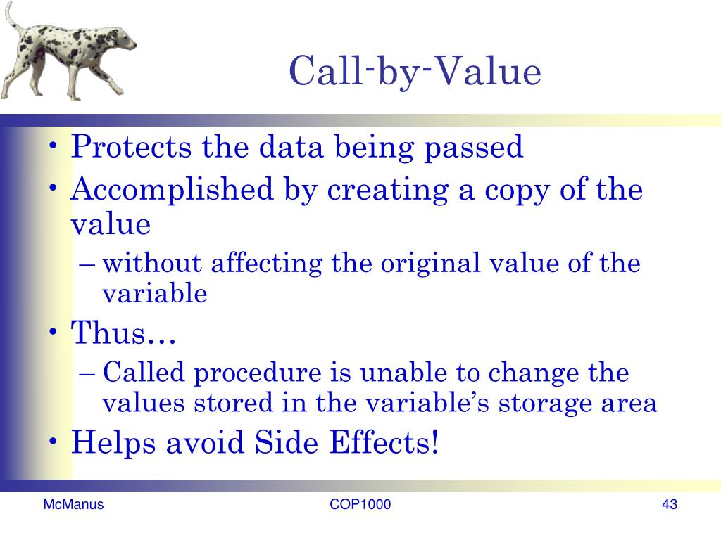 Call-by-Value