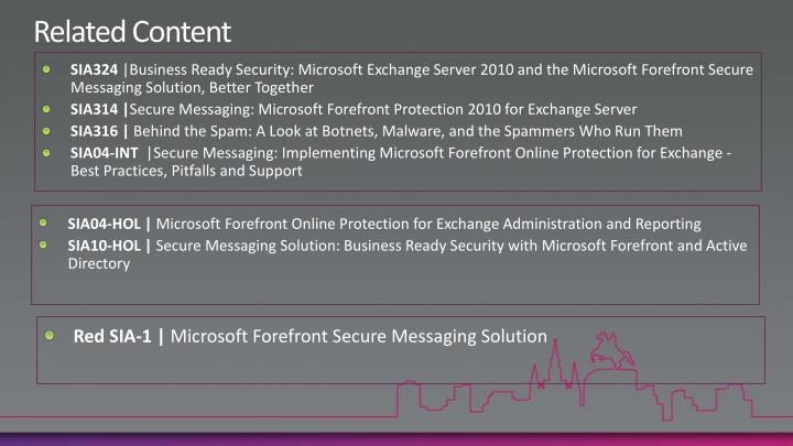 microsoft forefront protection for exchange server