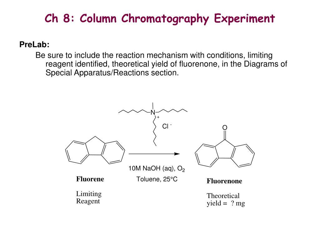 9 fluorenone polarity