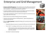 enterprise and grid management