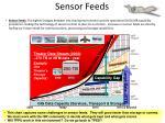 sensor feeds