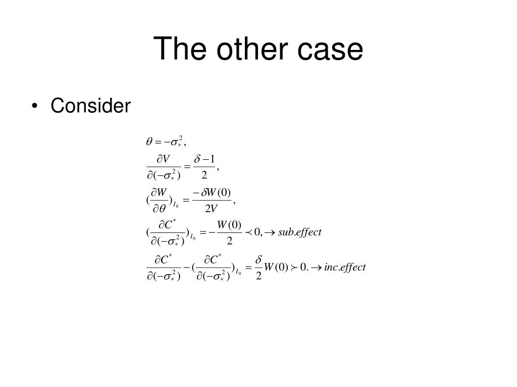 The other case