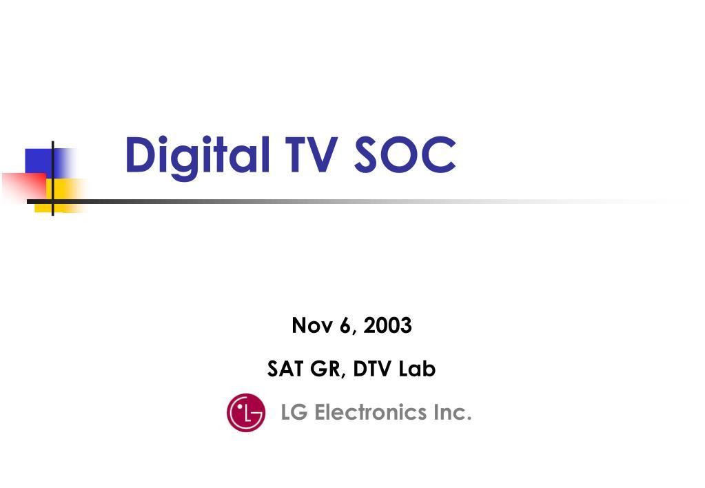 digital tv soc l.