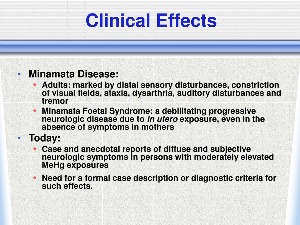 Clinical Effects