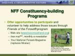 nff constituency building programs33