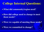 college internal questions