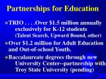 partnerships for education
