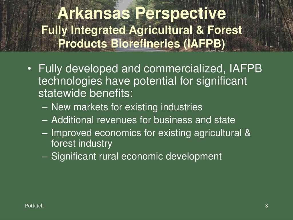 Arkansas Perspective
