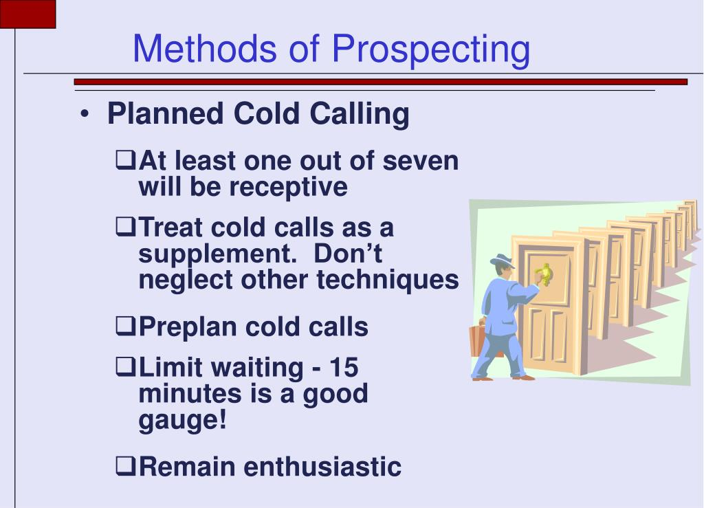 Planned Cold Calling