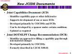 new jcids documents