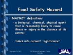 food safety hazard3