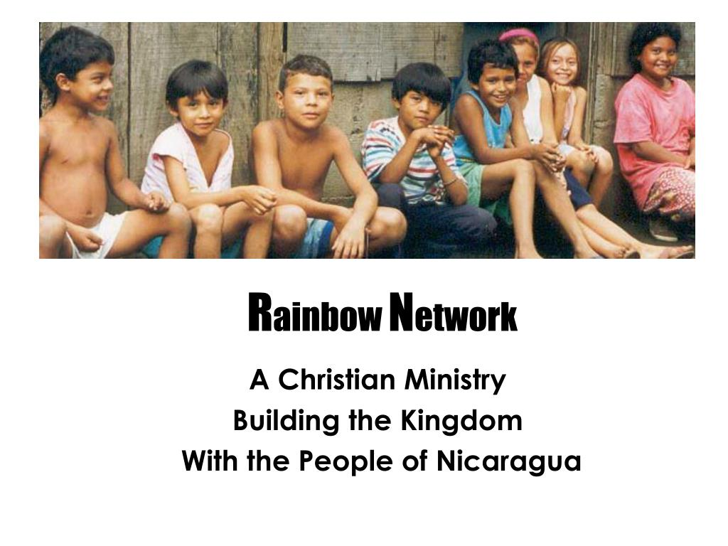 a christian ministry building the kingdom with the people of nicaragua l.